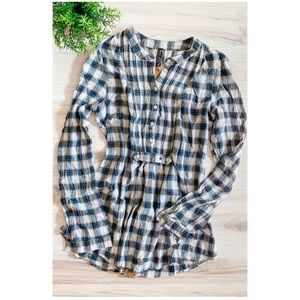 Free People Plaid Shirt